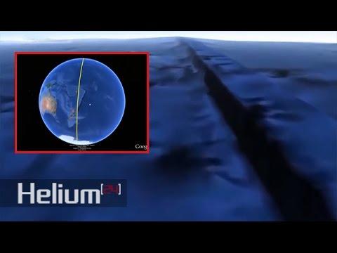 Gigantesca PARED SUBMARINA que abarca todo el planeta es hallada en Google Earth