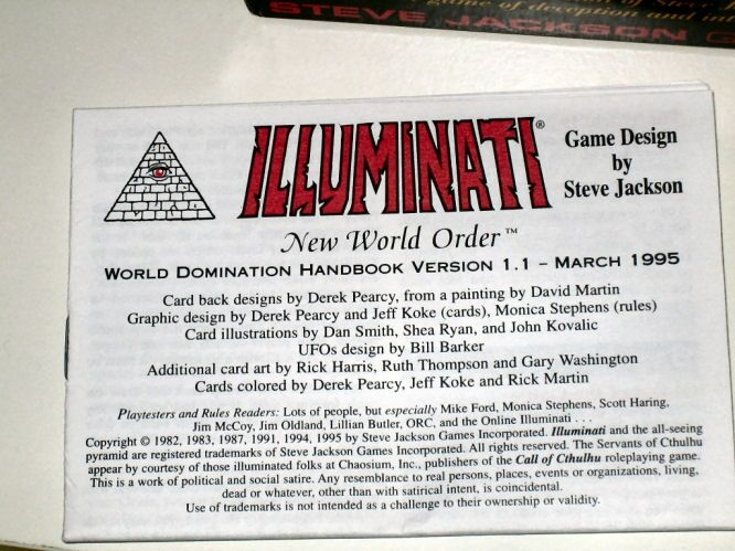 Cartas illuminati,el juego que revela el futuro.