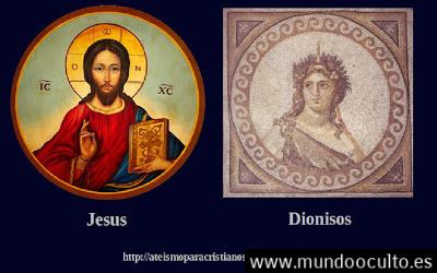 jesusdionisosdioszeusbibliamitologiagriegaateismo - 5 Historias bíblicas ROBADAS de la Mitología Griega. ¿Y sigues creyendo que es ORIGINAL