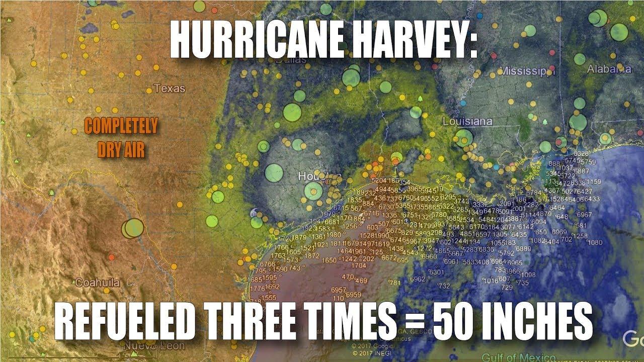 Modificación del clima: ¿Se intensificó artificialmente el huracán Harvey mediante programas de geoingeniería?