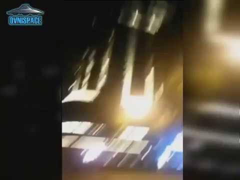 Ovni : una extraña forma rectángular apareció en el cielo de China