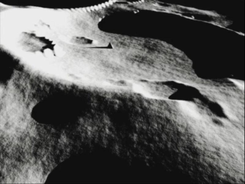 Pirámides y Fortalezas en la Luna: La evidencia de un obstinado hermetismo
