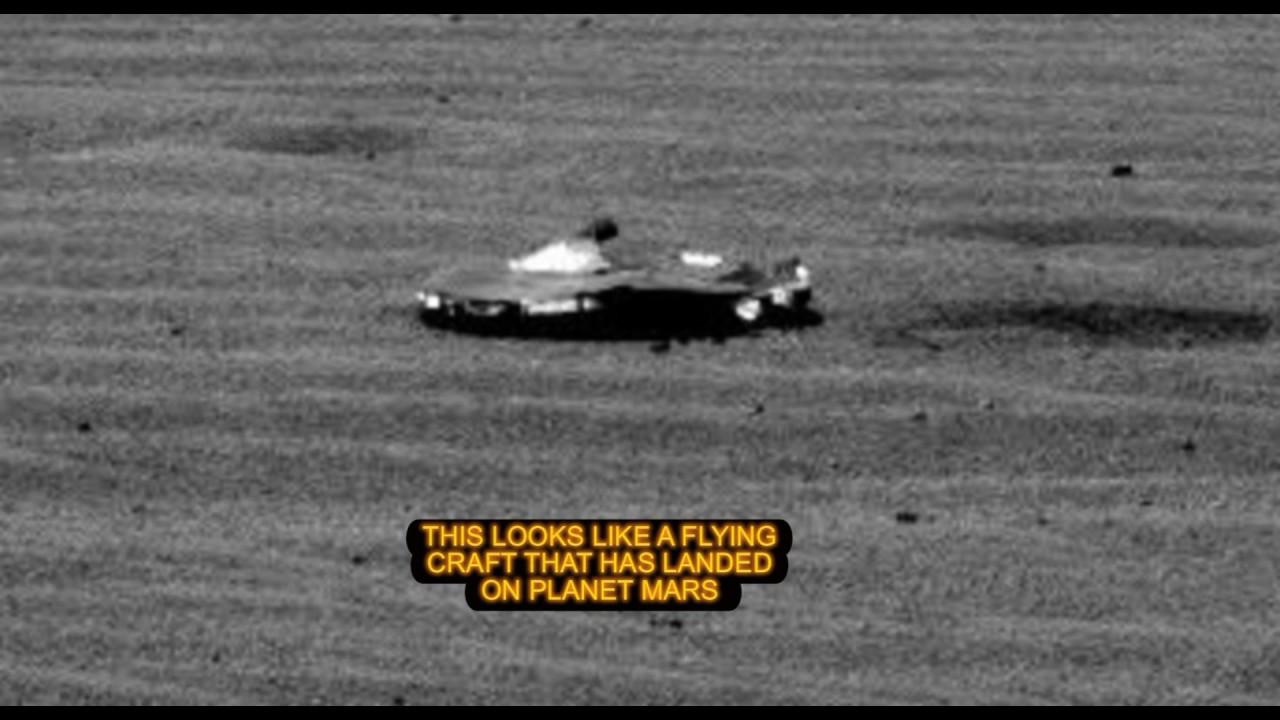 POR QUÉ LA NASA SE APRESURÓ EN BORRAR ESTA IMAGEN DE MARTE?