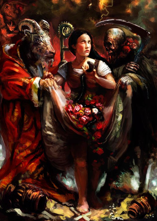 trinidad maldita - ¿Qué son los demonios?