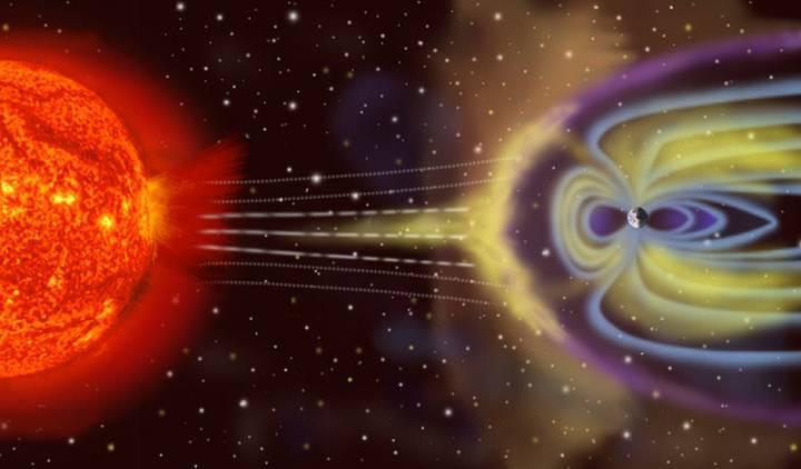 Una potente tormenta magnética está azotando la Tierra