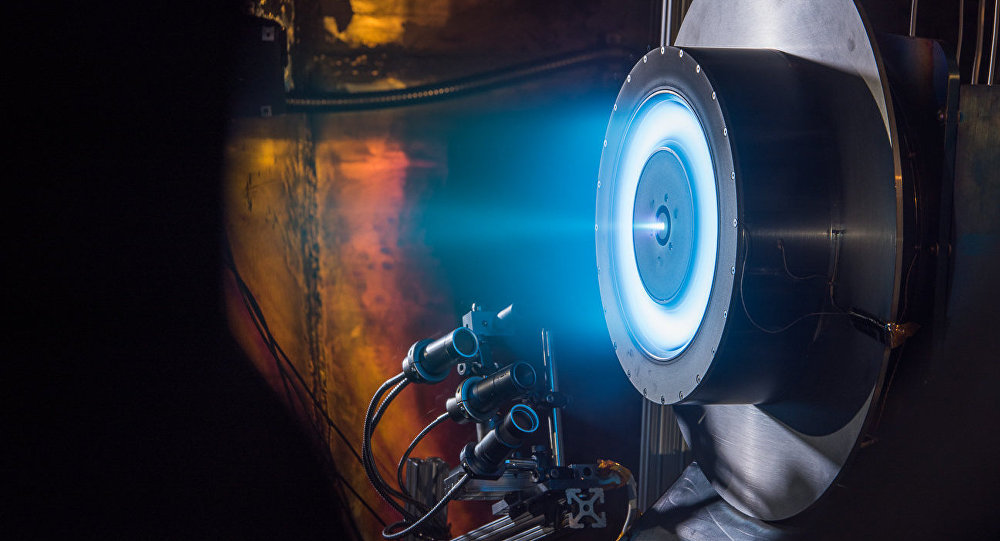 EEUU prueba un nuevo propulsor iónico para llegar a Marte
