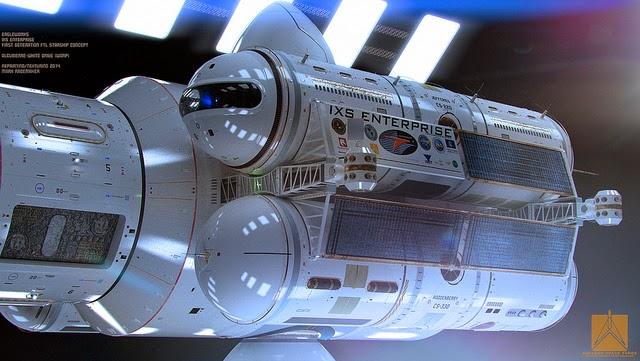 13902732498 e3dba508c5 z - la NASA presenta su nuevo modelo de nave espacial y, ATENCIÓN, con un motor Warp