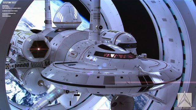 14038693038 0da3b292a6 z - la NASA presenta su nuevo modelo de nave espacial y, ATENCIÓN, con un motor Warp