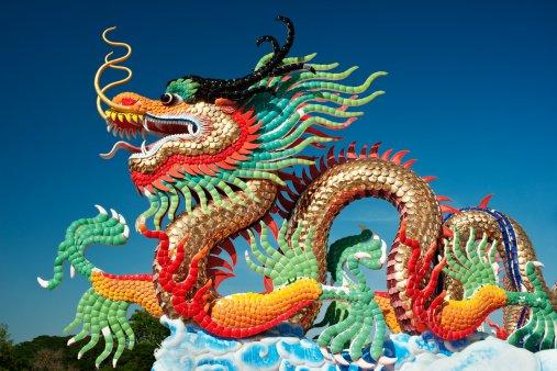 ¿Qué simbolizan los dragones para la cultura china?