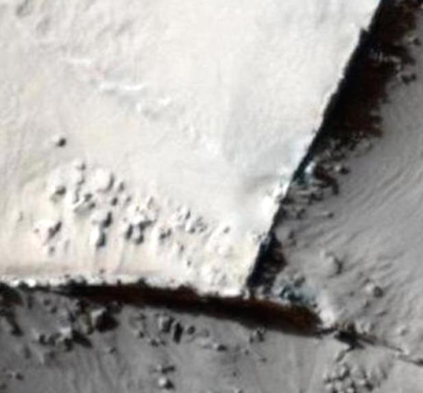 1CK2vd8 - Descubierto un antiguo muro en Marte, foto de la NASA