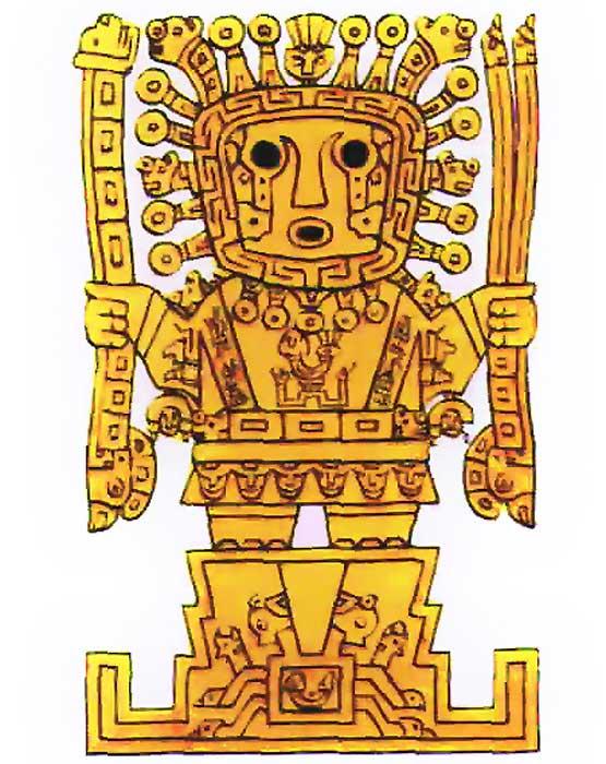 Imagen Inti 1 - Inti, el dios del Sol de los incas: hijo de Viracocha y antepasado de los primeros reyes del Imperio inca