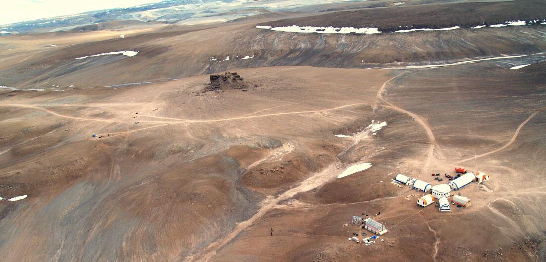 ¿Están los Rovers de la NASA en la tierra o en Marte?