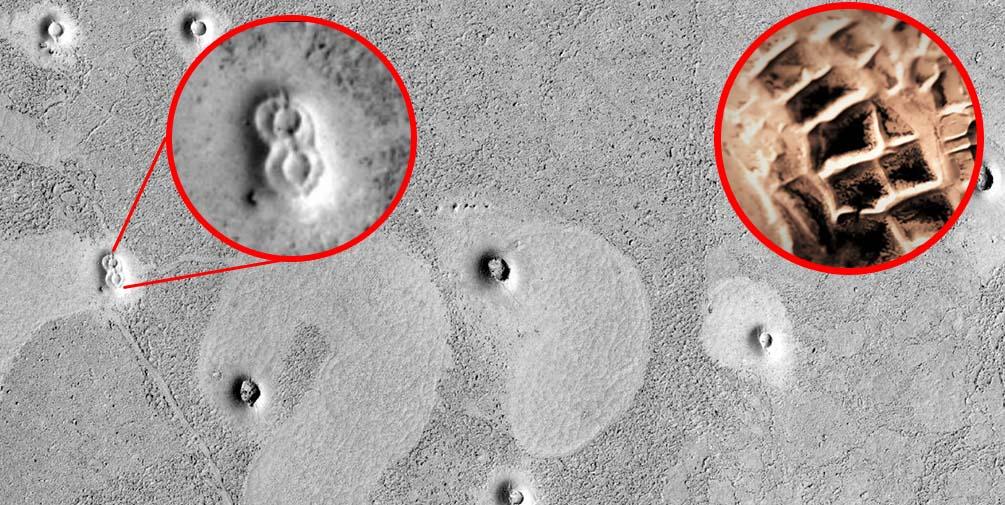 Descubiertas Ruinas de una antigua ciudad en la superficie de Marte?