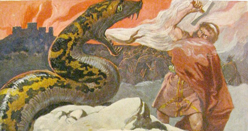 Mitología nórdica: el poderoso Thor, dios del trueno y de la guerra