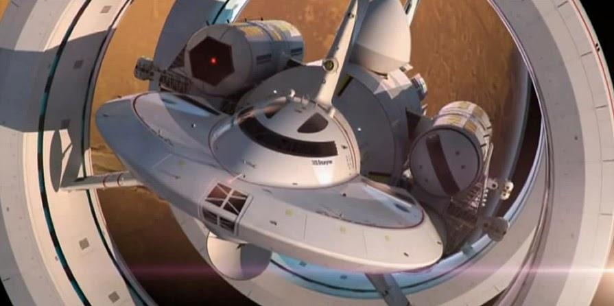 arka1v2pcbroo4a0pj8e - la NASA presenta su nuevo modelo de nave espacial y, ATENCIÓN, con un motor Warp