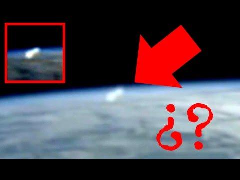 Cámaras del ISS captaron en VIVO la aparición de un OVNI emergiendo de la tierra