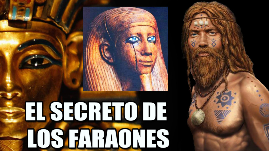 EL GRAN SECRETO DE LOS FARAONES ¿Eran rubios y de ojos azules NÓRDICOS? | VM Granmisterio