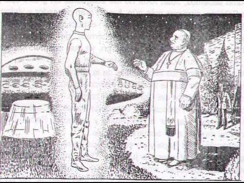 Encuentros cara a cara con extraterrestres.