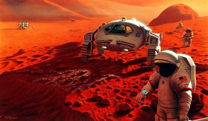 Una misión en Marte puede producir su propio oxígeno con plasma