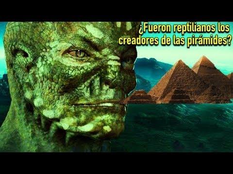 ¿Fueron Reptilianos los Creadores Perdidos de las Pirámides?