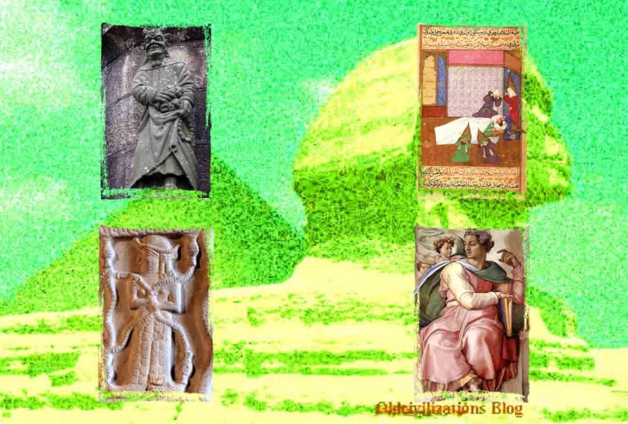 La Gran Pirámide, ¿Fue Construida por los Nefilim