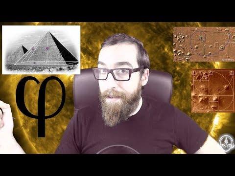 Las pirámides de Marte y su increíble relación con la razón áurea (2)