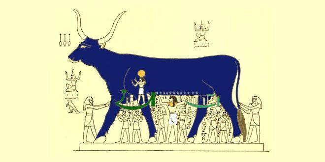mito vaca celeste