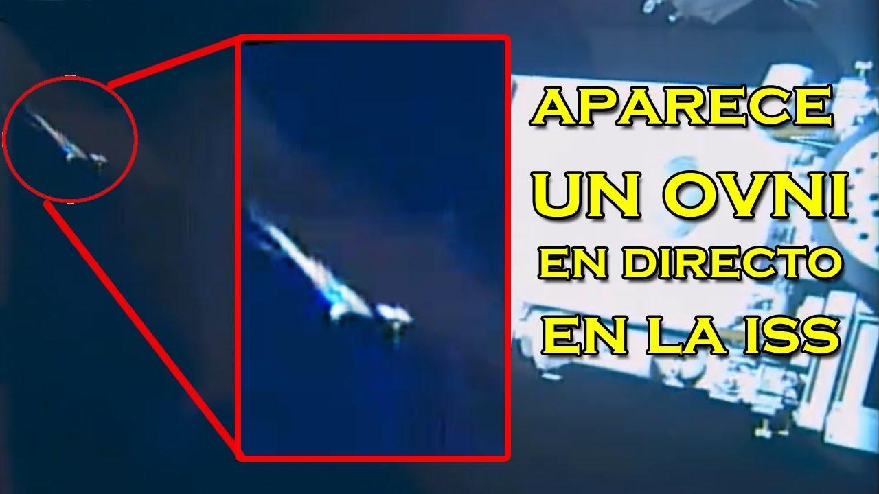 NASA oculta un ENORME OVNI que aparece ante la Estación Espacial
