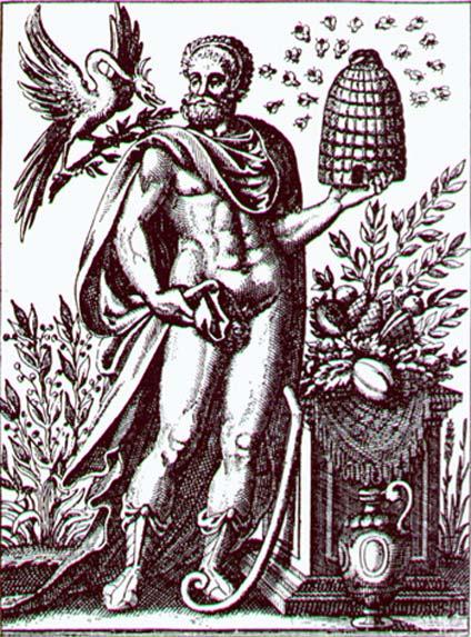 Trofonio, 'Historia Deorum Fatidicorum', Ginebra, 1675. (Dominio público)