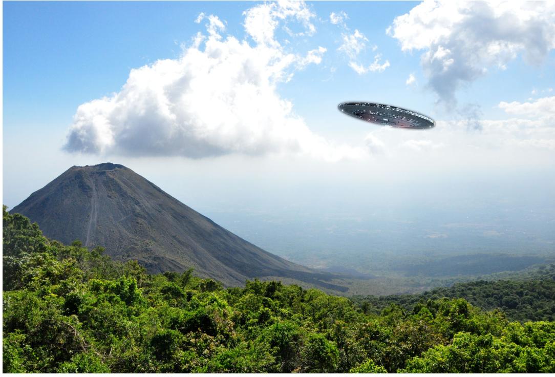 6 casos de supuestos avistamientos de OVNIS en El Salvador