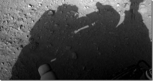 ¿Quién limpia el Curiosity?