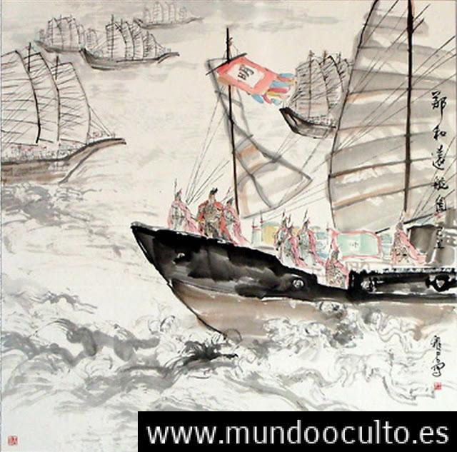 Antiguo mapa demuestra que en 1421 los chinos descubrieron #América