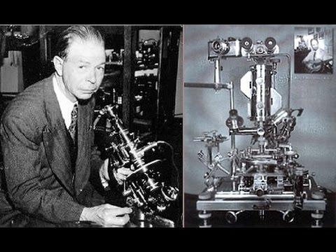 Raymond Rife y su microscopio universal para curar el cáncer