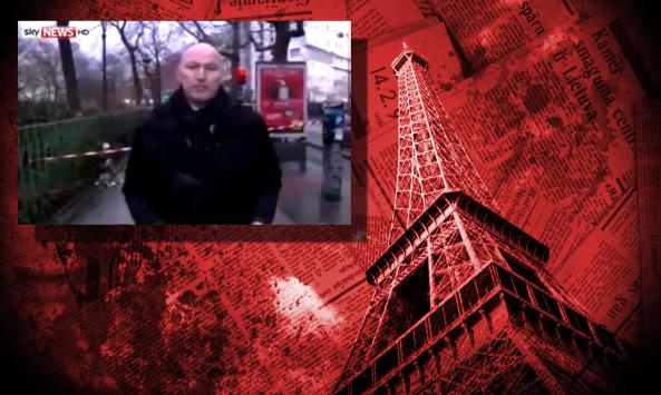Un reportero cuenta por error la verdad del ataque en Francia