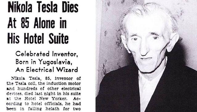 Nicola Tesla: El misterio de un genio.