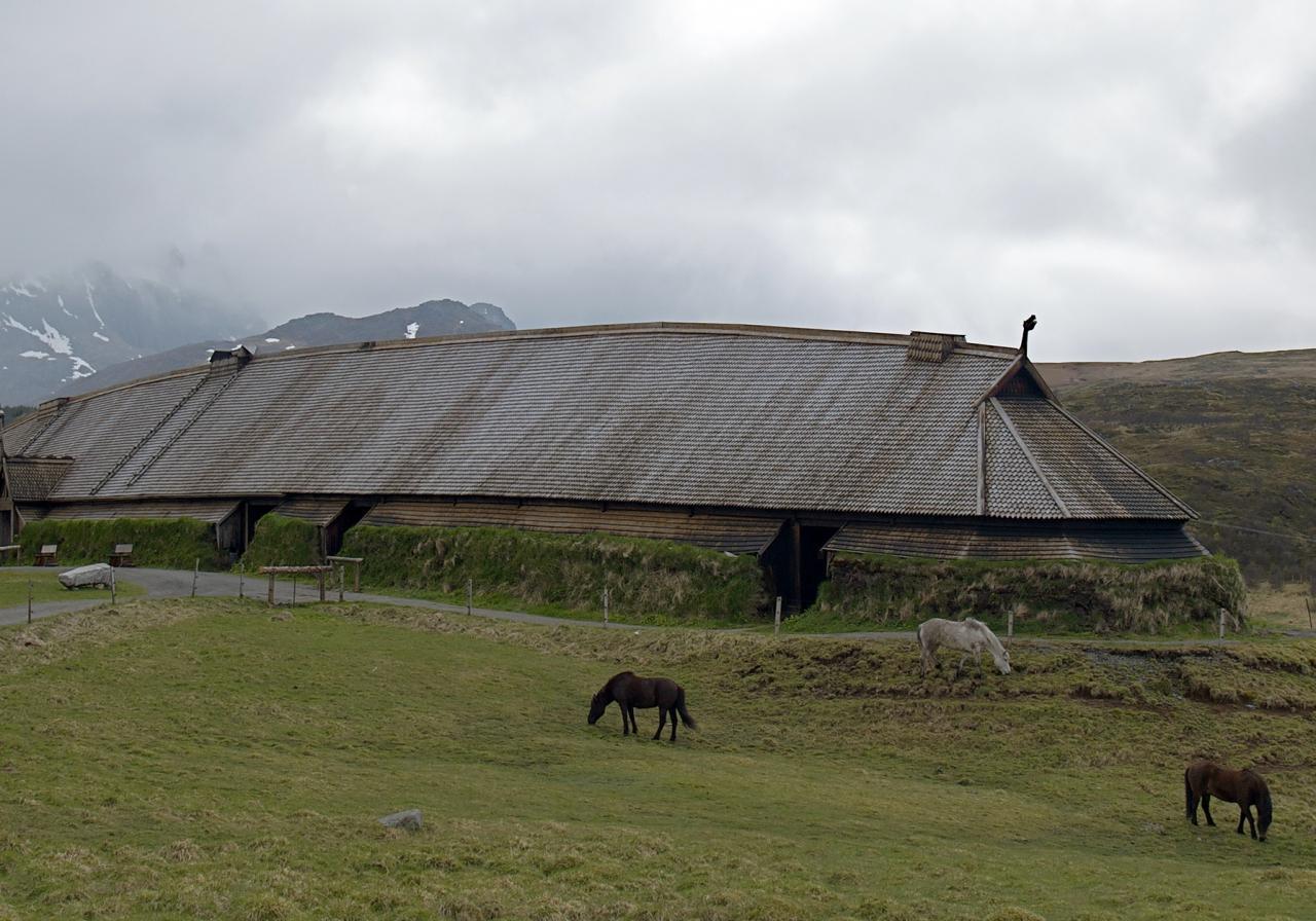 Documentado con georradar un gran hall vikingo de más de 50 metros de longitud en Suecia
