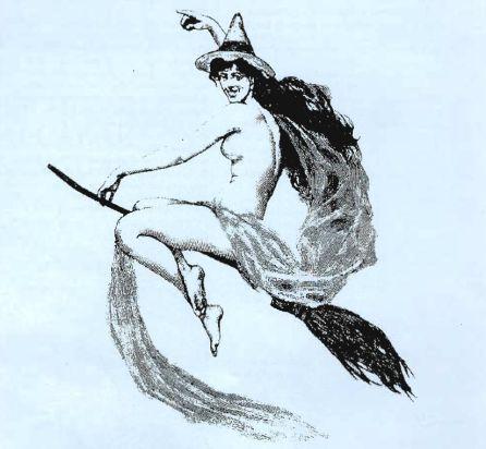 Ilustración sobre la hechicería de la revista
