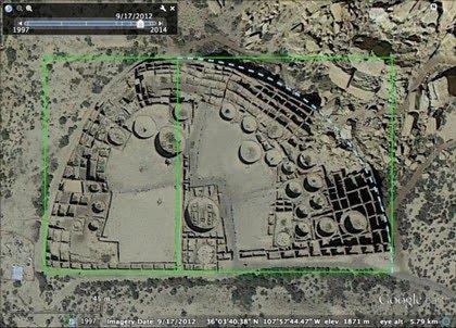 Los indios Pueblo ligaron geometría y arquitectura sin saber escribir