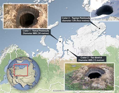Se multiplican los misteriosos agujeros en Siberia: ¿Qué está ocurriendo realmente en la Tierra?