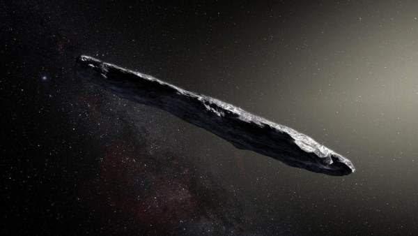 Así es 'Oumuamua, el primer visitante interestelar de nuestro sistema solar