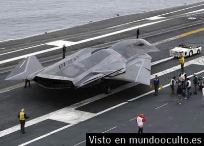 Naves espaciales antigravedad de Estados Unidos fabricadas utilizando tecnología extraterrestre