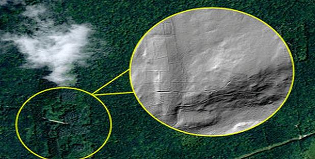 La NASA descubre restos de una antigua ciudad perdida bajo las profundidades del bosque