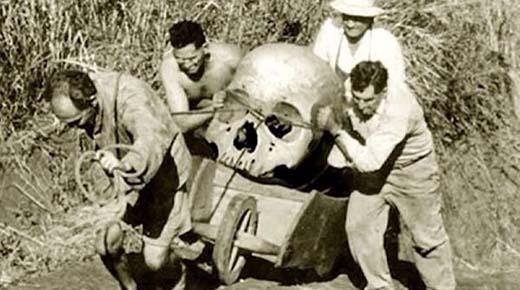 EL INSTITUTO SMITHSONIAN ADMITE HABER DESTRUIDO MILES DE ESQUELETOS DE HUMANOS GIGANTES A PRINCIPIOS DEL 1900