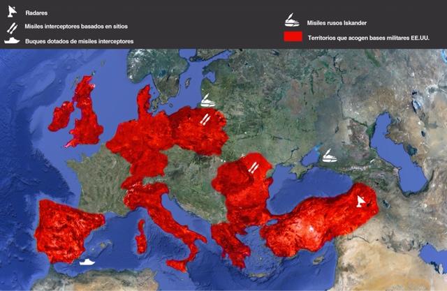 Europa se llena de bombas atómicas estadounidenses