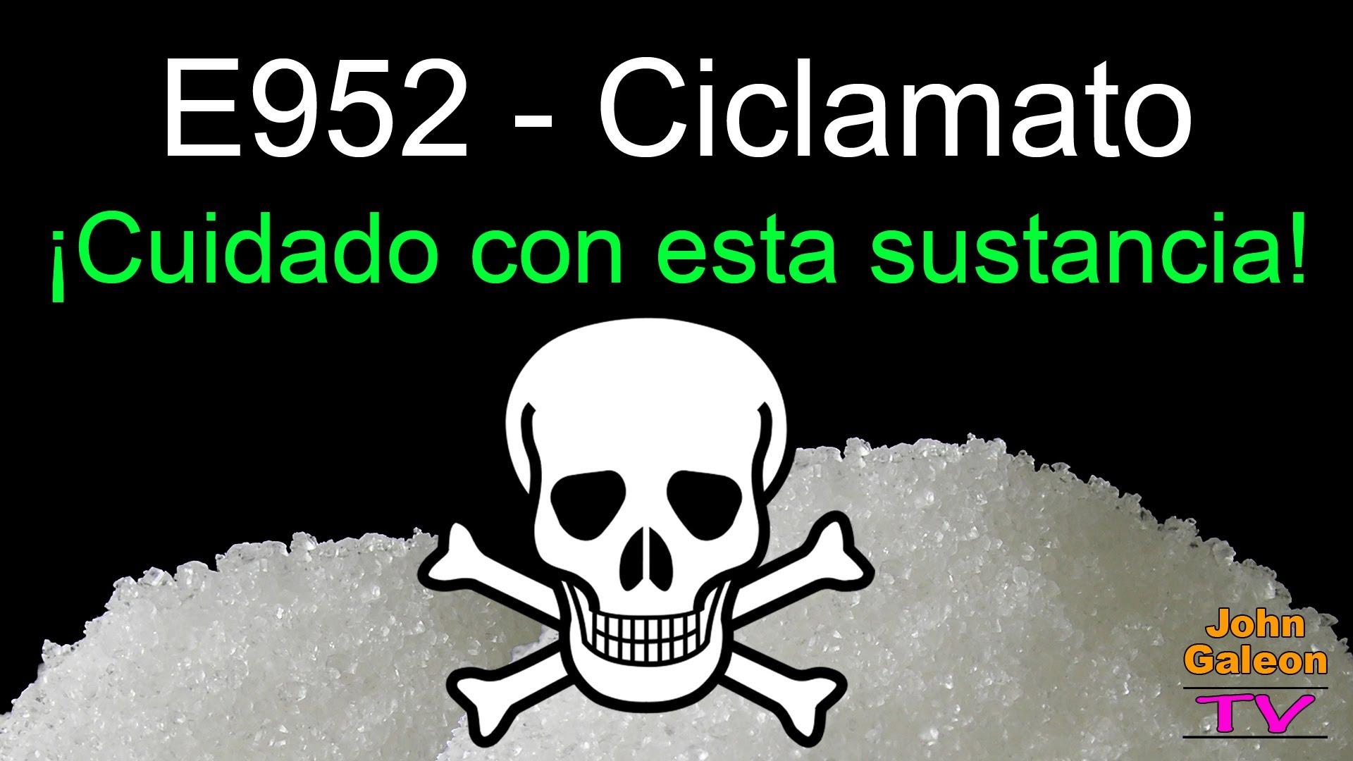 Ciclamato – E952 – ¡Cuidado con esta sustancia! – Presente en la Coca-Cola