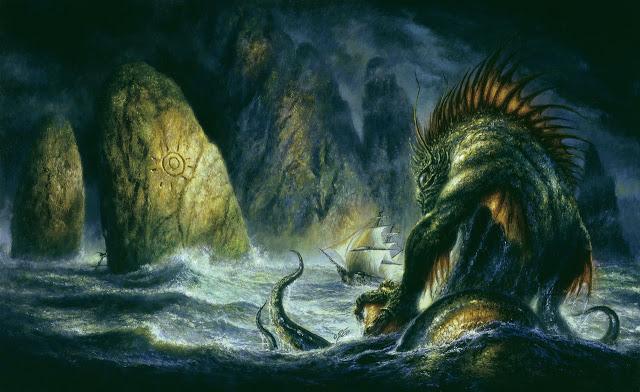 Dagón: demonio y panadero de Lovecraft.