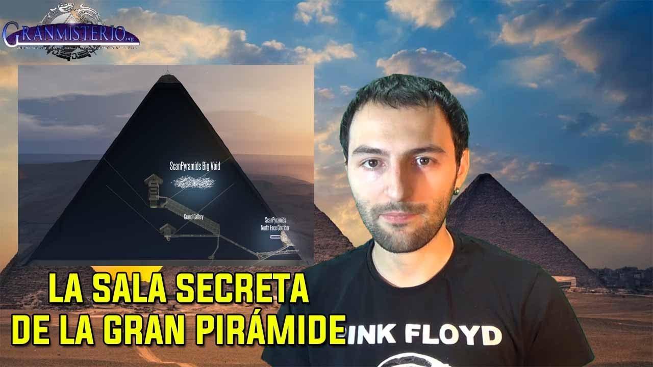 Descubren que la gran Pirámide está HUECA y hay una enorme cámara secreta
