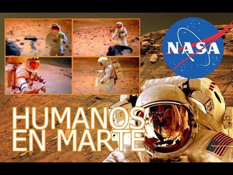 EX EMPLEADO DE NASA AFIRMA HABER VISTO HUMANOS EN MARTE