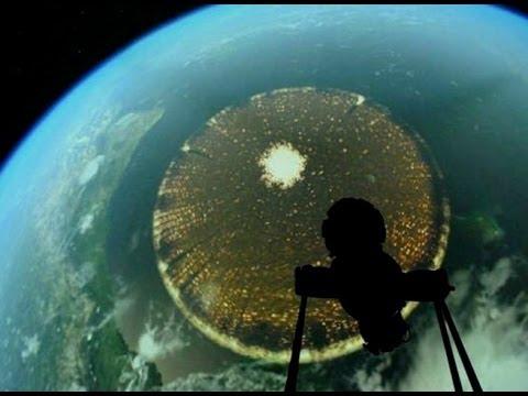 Extraña forma fotografiada desde el espacio