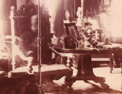 El fantasme de Lord CCombermer que fue fotografiado